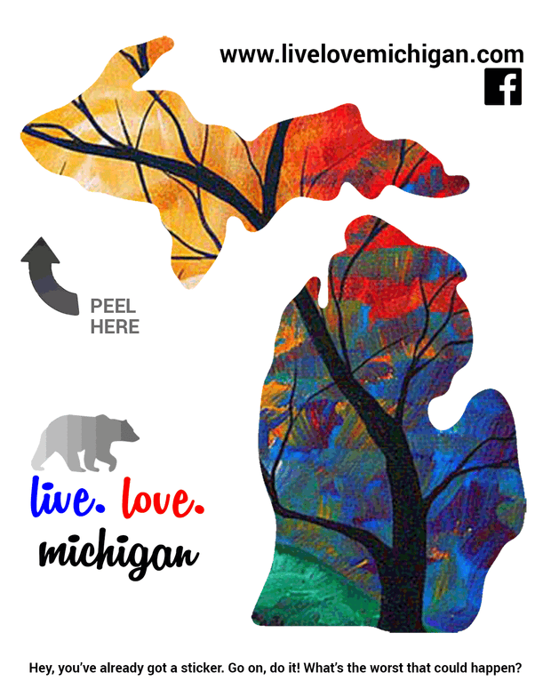 Decal - Michigan Tree