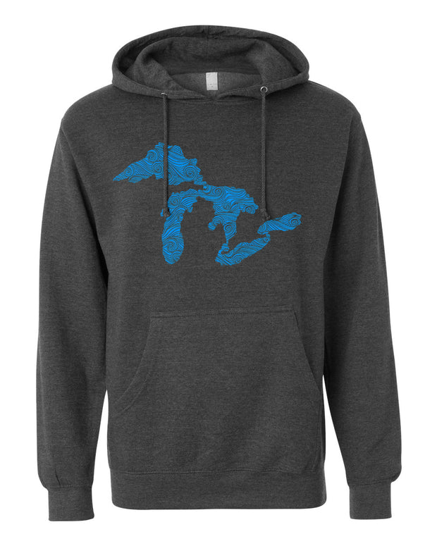 Swirling Water - Unisex Hooded Sweatshirt