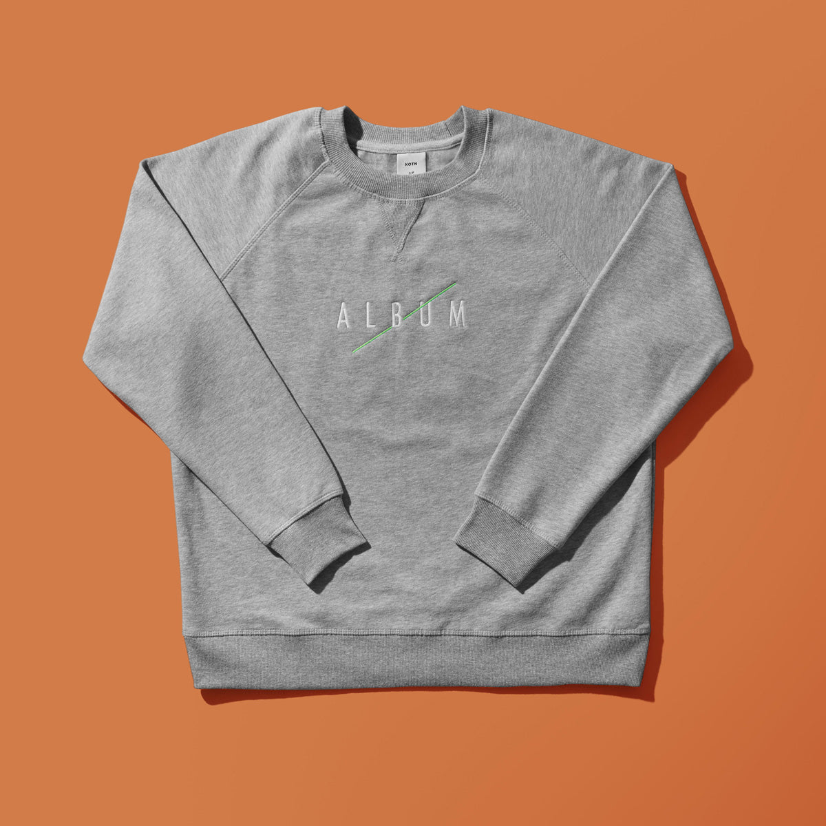 Embroidered Album Studios KOTN Sweater