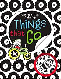 Things at go (Lift-the-flap-coloring book)