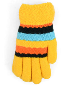 Kids fleece lined gloves