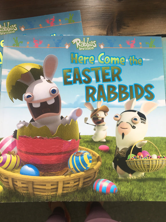 Here comes the Easter Rabbids