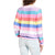 ''Rainbow in High Street'' Flare Sleeve Tee