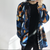 'Guernica d'Avignon' Patchwork Long Shirt