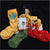 Artistic Abstract Oil Painting Socks