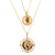 Hellenistic Golden Coins Pendant Necklace