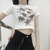 The Vintage Dinosaur Crop Top