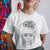 Frida Line Art Portrait T-shirt