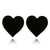 Retro Transparent Heart Earring