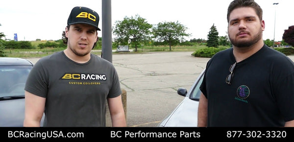 BC Racing Coilover Install Video with Josh