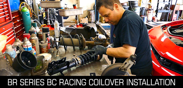 BC Racing Coilover Install Video