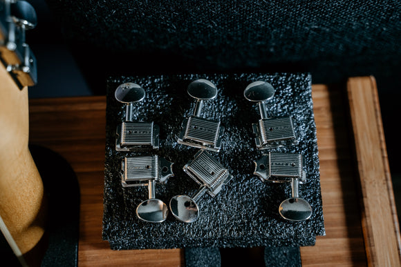 Kluson 6 In Line Deluxe Series Tuning Machines