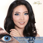 COLORED CONTACTS AVENUE FX BLUE - Lens Beauty Queen