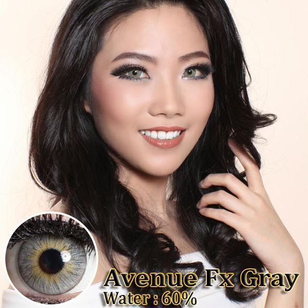 COLORED CONTACTS AVENUE FX GRAY - Lens Beauty Queen