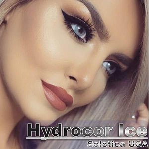 COLORED CONTACTS HYDROCOR AVENUE SOLOTICA ICE GRAY - Lens Beauty Queen