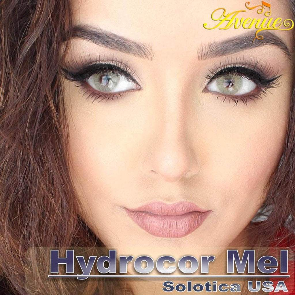 COLORED CONTACTS AVENUE SOLOTICA MEL HONEY - Lens Beauty Queen
