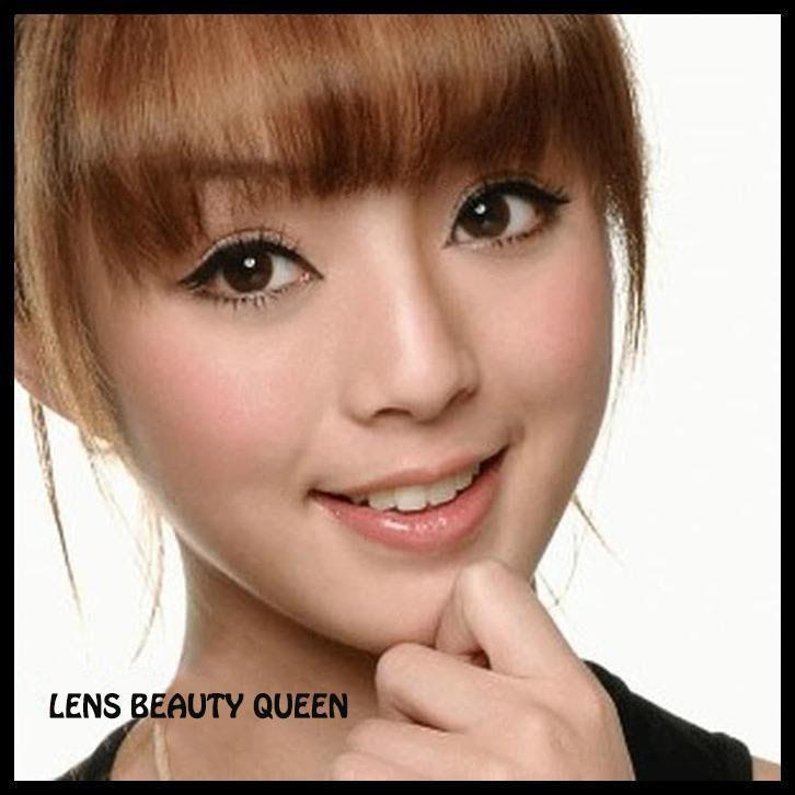 BROWN CONTACTS - COLORED CONTACTS GEO CIRCLE CHOCO - Lens Beauty Queen