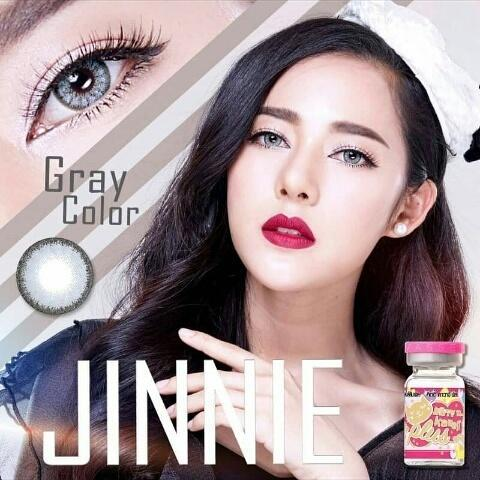 COLORED CONTACTS KITTY JINNIE GRAY - Lens Beauty Queen