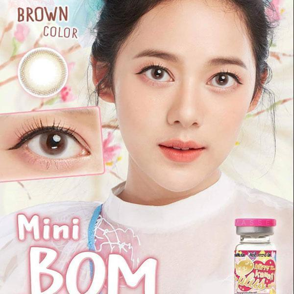 COLORED CONTACTS KITTY MINI BOM BROWN - Lens Beauty Queen