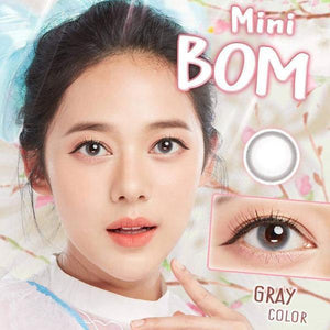 COLORED CONTACTS KITTY MINI BOM GRAY - Lens Beauty Queen
