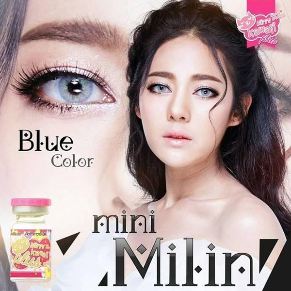 COLORED CONTACTS KITTY MINI MILIN BLUE - Lens Beauty Queen
