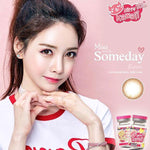 COLORED CONTACTS KITTY MINI SOMEDAY BROWN - Lens Beauty Queen