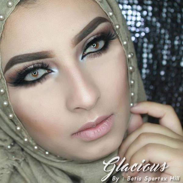 COLORED CONTACTS BATIS HILL GLACIOUS - Lens Beauty Queen