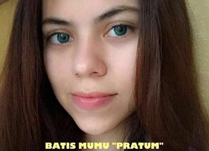 COLORED CONTACTS BATIS MUMU PRATUM - Lens Beauty Queen