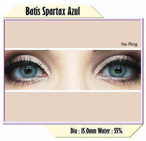 COLORED CONTACTS BATIS SPARTAX AZUL - Lens Beauty Queen