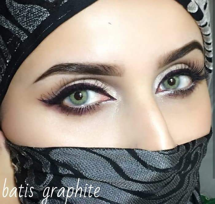 COLORED CONTACTS BATIS SPARTAX GRAPHITE - Lens Beauty Queen