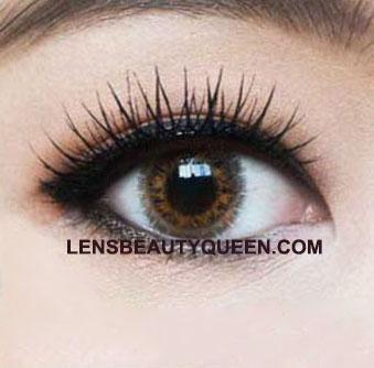 COLORED CONTACTS CANDY BULLE BROWN - Lens Beauty Queen