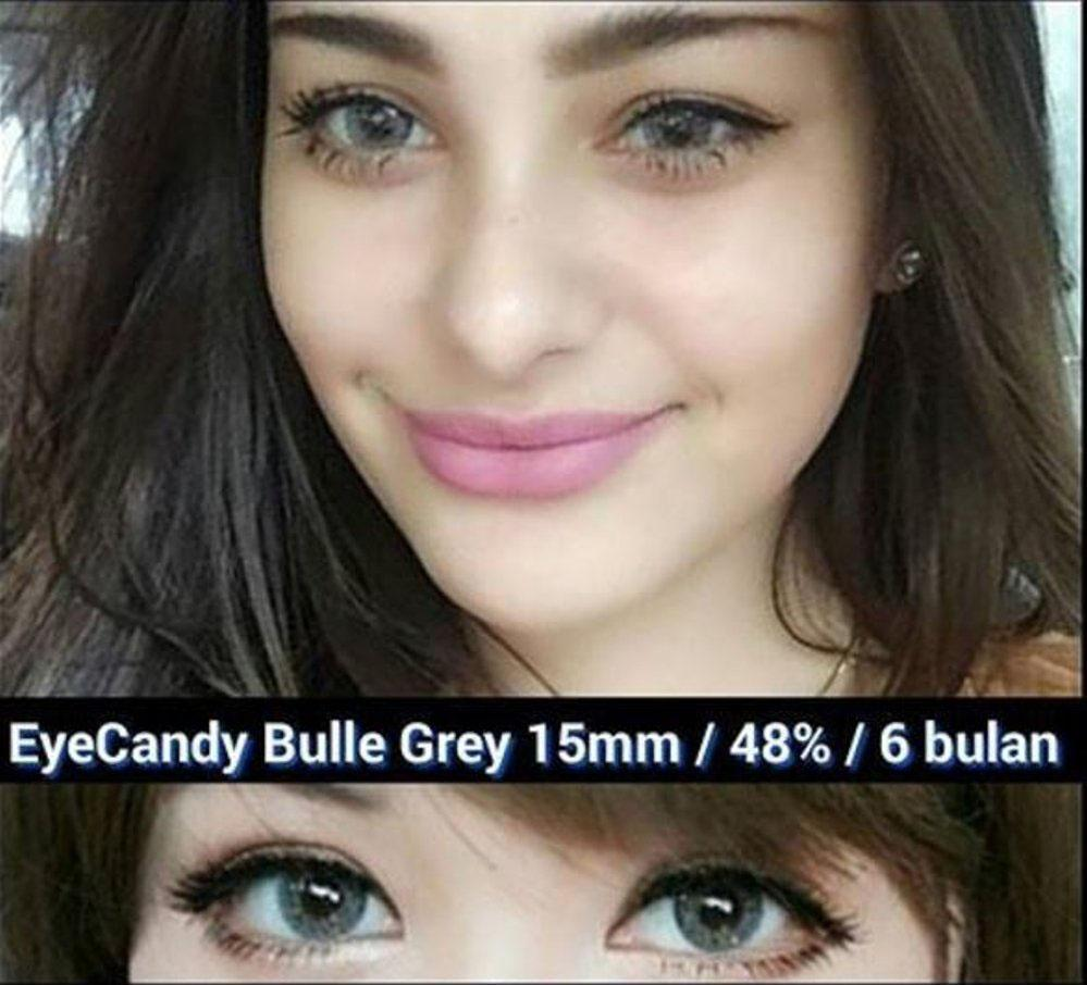 COLORED CONTACTS CANDY BULLE GRAY - Lens Beauty Queen