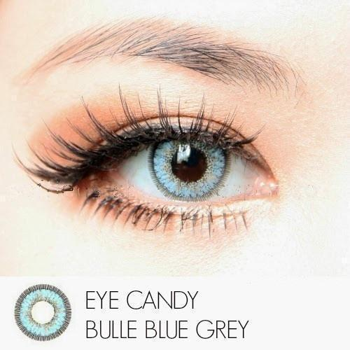 COLORED CONTACTS CANDY BULLE GRAY BLUE - Lens Beauty Queen