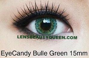 COLORED CONTACTS CANDY BULLE GREEN - Lens Beauty Queen