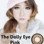 COLORED CONTACTS DOLLY EYE PINK - Lens Beauty Queen