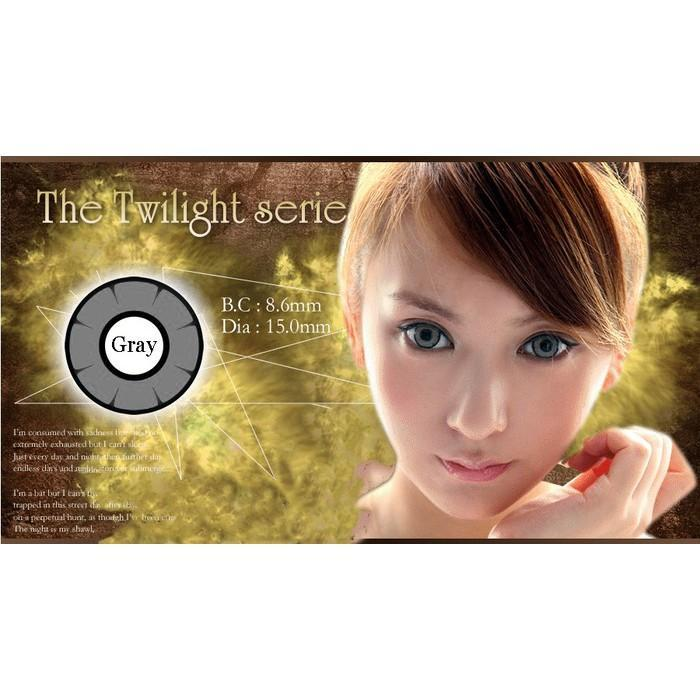 COLORED CONTACTS DOLLY EYE TWILIGHT GRAY - Lens Beauty Queen