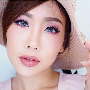 COLORED CONTACTS DREAM COLOR FROZEN BLUE - Lens Beauty Queen