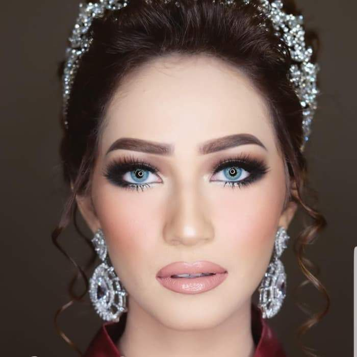 COLORED CONTACTS DUBAI GALAXY BLUE - Lens Beauty Queen