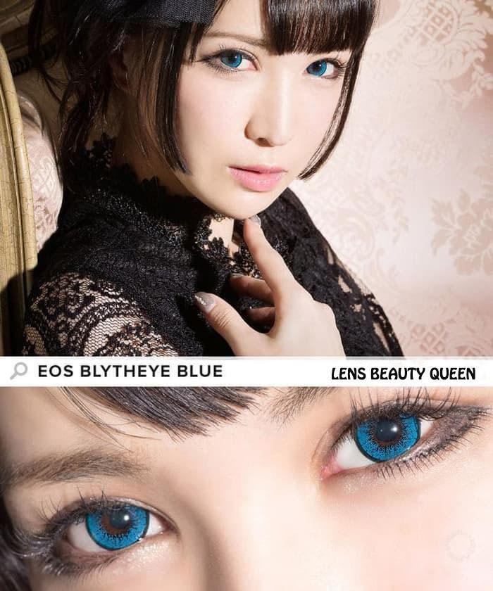 COLORED CONTACTS EOS BLYTHE EYE BLUE - Lens Beauty Queen