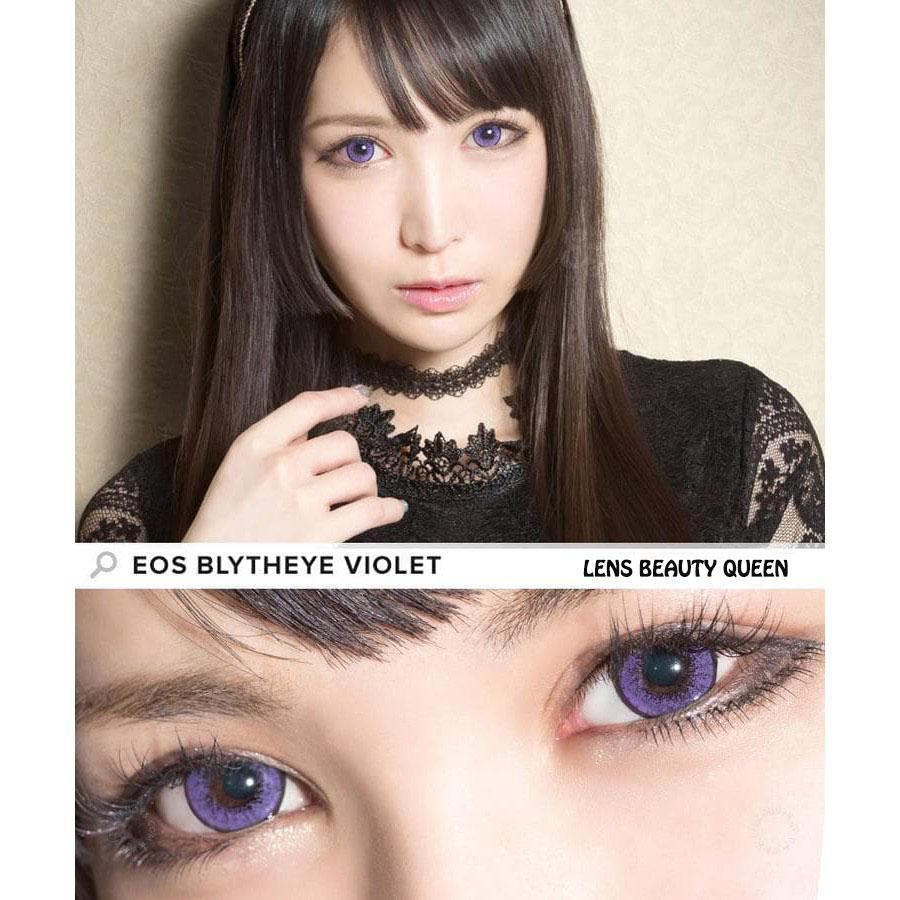 COLORED CONTACTS EOS BLYTHE EYE VIOLET - Lens Beauty Queen