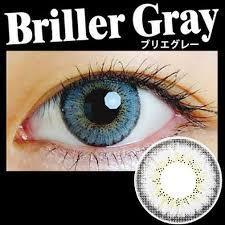 COLORED CONTACTS EOS BRILLER GRAY - Lens Beauty Queen