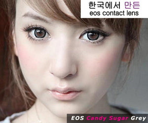 COLORED CONTACTS EOS CANDY SUGAR GRAY - Lens Beauty Queen