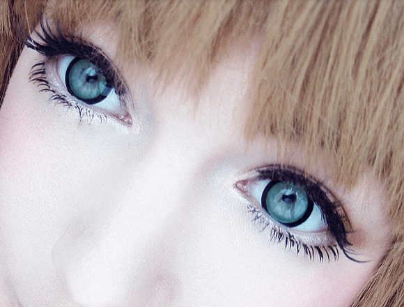 COLORED CONTACTS EOS CANDY SUGAR GREEN - Lens Beauty Queen