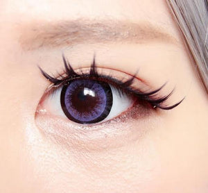 COLORED CONTACTS EOS CANDY SUGAR VIOLET - Lens Beauty Queen