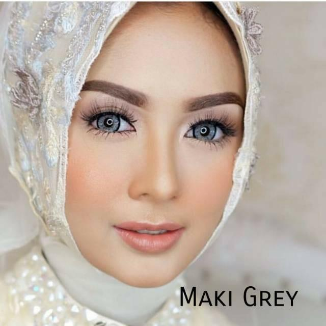 COLORED CONTACTS EOS MAKI GRAY lensbeautyqueen