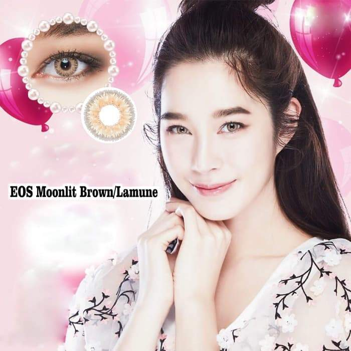 COLORED CONTACTS EOS MOONLIT BROWN - Lens Beauty Queen