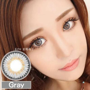 COLORED CONTACTS EOS RAINSHOWER GRAY - Lens Beauty Queen