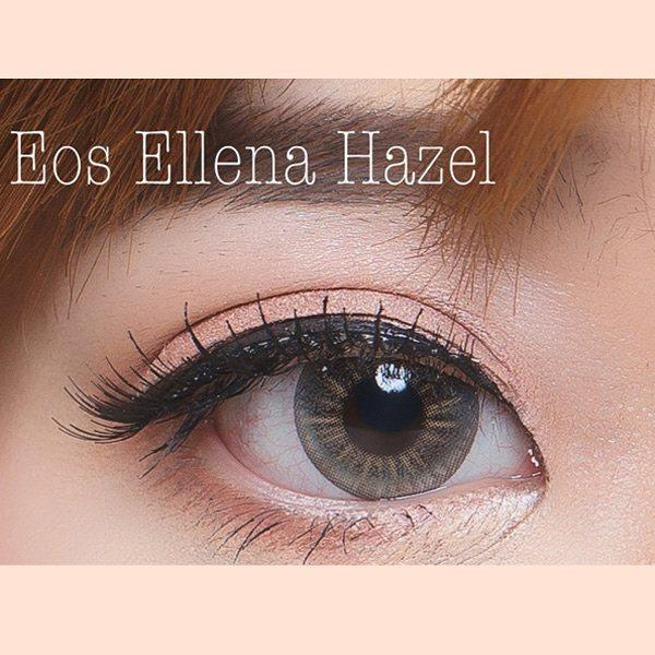 COLORED CONTACTS EOS S307 ELLENA BERRY HAZEL - Lens Beauty Queen