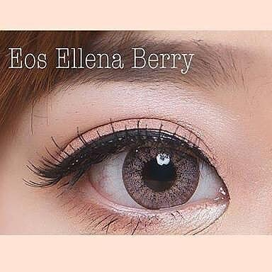 COLORED CONTACTS EOS S307 ELLENA BERRY RED - Lens Beauty Queen