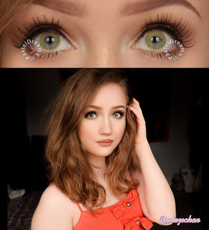COLORED CONTACTS EOS SOLE 1TONE BROWN - Lens Beauty Queen
